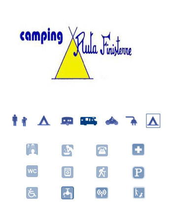 logo camping ruta finisterre