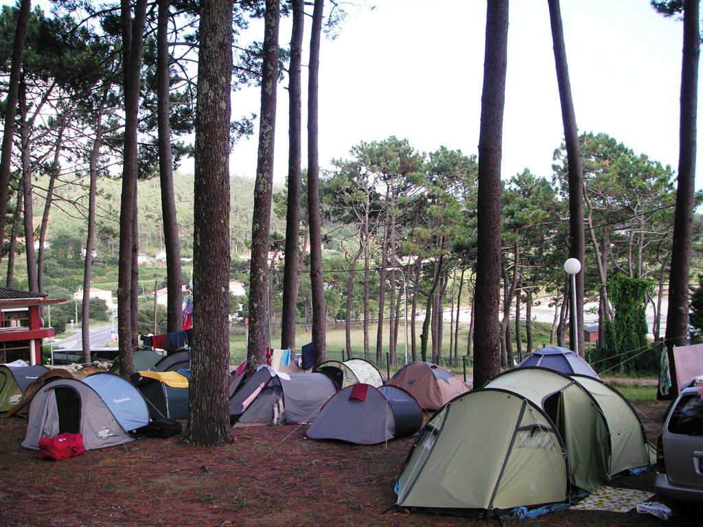 camping ruta finisterre playa de estorde cee costa da